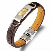Кожаный браслет LB16021