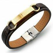 Кожаный браслет LB16022