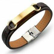Кожаный браслет LB16023