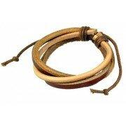 Кожаный браслет Teron