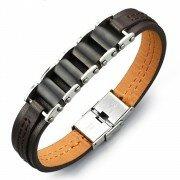 Кожаный браслет lbs130956